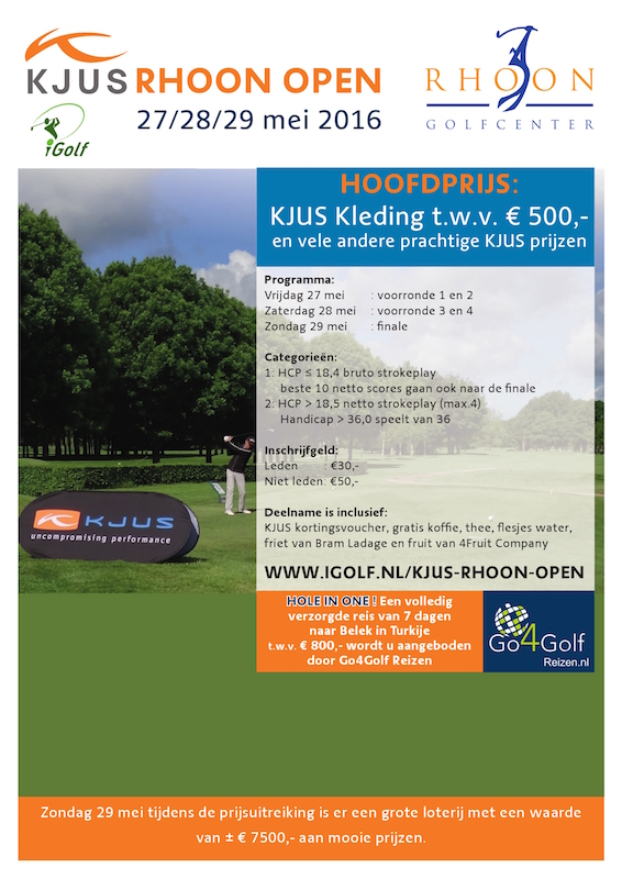 KJUS Rhoon Open